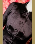 kabátek detail1, hořká čokoláda