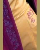 malinovo - švestkové paleto detail 2