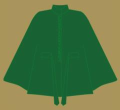 Wollpaletot - Grün Ton in Ton