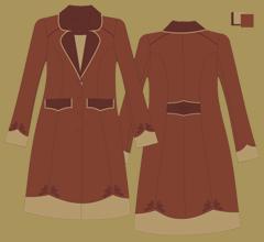 Woolen coat - Brown cappuccino brown