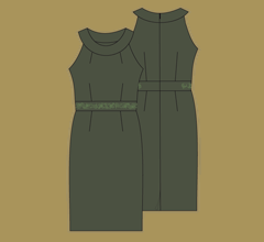 Dress - Dark green