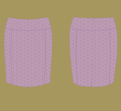 Skirt - Violet – cappuccino