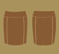 Skirt - Milk chocolate, cappuccino and ivory