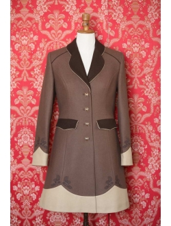 Woolen coat - Brown cappuccino brown