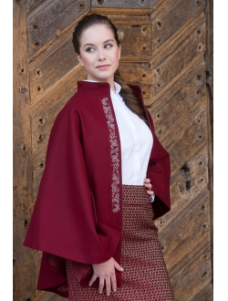 Skirt - Bordeaux – cappuccino