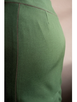 Skirt - Green and brown